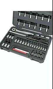 Craftsman 82 Pc Hex Torx Screw Set W Tamper Proof Bits 3 8 Ratchet Tools Only 42