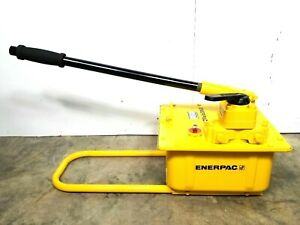 New Enerpac P464 Hydraulic Hand Pump 10 000 Psi Max Two speed