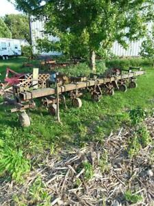 6 Row 3 Point Row Crop Cultivator Danish Tines