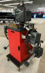 Hunter P811 Alignment System W Dsp250 Heads Sensors Cables Remote Indicator