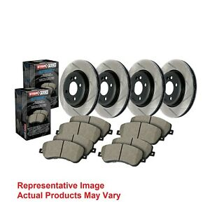 Stoptech Disc Brake Pad And Rotor Kit Front Rear For Forester Impreza Wrx Sti