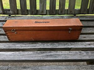Starrett 12 Inch Machinist Level And Case