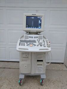 Philips Envisor C Hd M254oa Ultrasound System W L12 3 S4 2 Probes