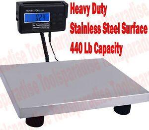 Digital Weighting Large Flat Surface Scale For Animal Postal Shipping Fitness