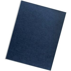 New Fellowes 52098 Expression Linen Presentation Covers Letter 200pk navy