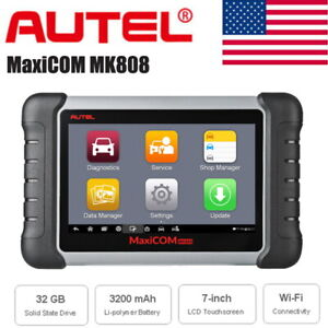 Autel Maxicom Mk808 Obd2 Scanner Tool With Functions Tpms Immo Sas For Gm Ford