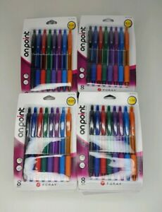 Lot Of 20 Pks Foray Soft grip Retractable Color Ballpoint Pens Medium Point 1 0