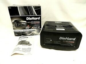 Diehard 28 71323 Auto Defects 12v Battery Charger 10a Boost 50a Engine Starter