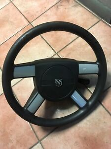 Dodge Charger 2010 Steering Wheel 1947597 Black Complete With Bag 08 10 W Srs