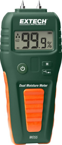 Extech Mo55 Combination Pin pinless Moisture Meter