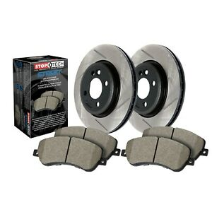 Stoptech Disc Brake Pad And Rotor Kit Front For 07 14 Ford Mustang 937 61024