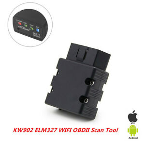 Car Engine Diagnostic Scan Tool For Iphone Ipad Wifi Kw902 Elm327 Obd2 General