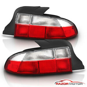 Factory Style 1996 1997 1998 1999 Bmw E36 7 E36 8 Z3 Roadster Red Tail Lights