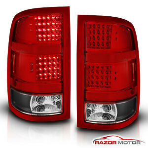 2007 2008 2009 2010 2011 2012 2013 Gmc Sierra 1500 2500 3500 Hd Led Tail Lights