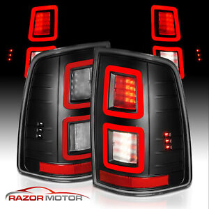 2009 2018 Dodge Ram 1500 2010 2018 Ram 2500 3500 Smoke Led Brake Tail Lights