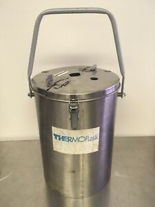 Thermolyne Thermo flask 2125 Benchtop Liquid Nitrogen Dewar 7l Pre owned