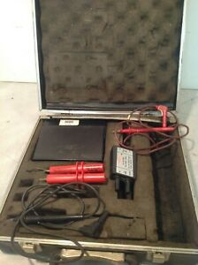 Simpson True Rms Digital Multimeter With Digalog Display Model 467 Case Leads