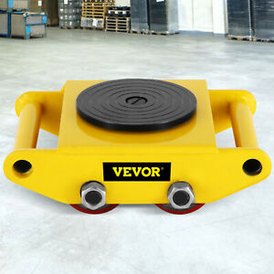 Industrial Machinery Mover With 360 rotation Cap 13200lbs Dolly Skate 4 Rollers