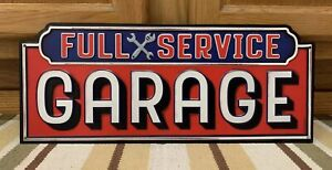 Full Service Garage Wall Decor Man Cave Work Shop Craftsman Mac Snap On Tools