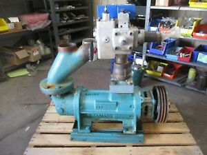 Delval Imo ag3db 312 Hydraulic Screw Pump 625336j Used Turns By Hand
