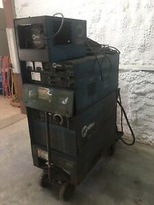 Miller Goldstar 300ss With Tig Rig Dc Welder Radiator 1 Cooling System