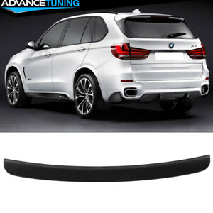 Fits 14 17 Bmw F15 X5 Mp Style Roof Spoiler Matte Black Abs
