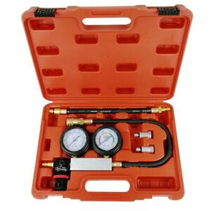 Cylinder Leak Tester Detector Petrol Engine Compression Leakage Leakdown Kit Us