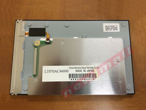 7 Inch Lt070ac46000 Industrial Lcd Display Screen For Toshiba Lcd Panel 800x480