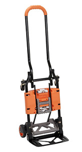 Cosco Shifter 300 pound Capacity Multi position Folding Hand Truck And Cart Ora