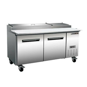 Maxximum Mxcpp70hc 70 Pizza Prep Table Refrigerated Counter