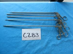 Cabot Medical Wisap Surgical 5mm Lap Laparoscopic Instruments Lot Of 5