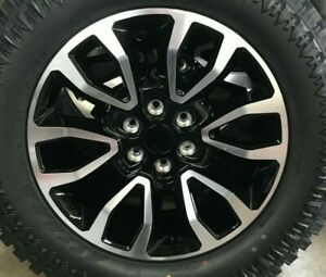 20 Ford Raptor Style Machine Black Wheels Rims Set Fits For F 150 04 19