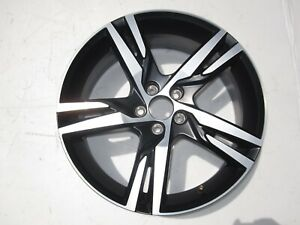 17 19 Volvo Xc60 Machined W Matt Black Factory Wheel Oem Rim 5 Split Spoke