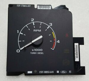 New Oem Nos Ford Tachometer Gauge Fits 94 97 Ford 7 3l Turbo Diesel