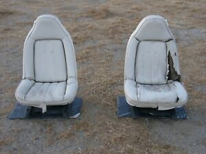 1973 77 Chevelle Monte Carlo Cutlass 442 Regal Gs Swivel Bucket Seats Nice Used