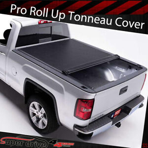 Fits 2005 2015 Toyota Tacoma 6 Ft 72 In Bed Vinyl Lock Roll Up Tonneau Cover