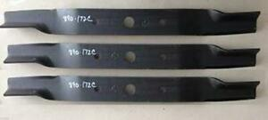Blades For Land Pride 72 Cut Finish Mowers 890 172c