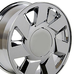17 Chrome Wheel Set Fits Cadillac Dts Ats Sts Cts Deville 17x7 5