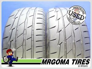2 Firestone Firehawk Indy 500 225 50 17 Used Tires 80 Life No Patch 2255017