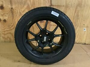 2009 Mini Cooper S Convertible Wheel Tire Doral 205 50r16 87h Rim Bbs Black Oem