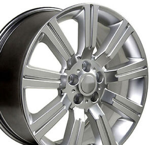 Npp Fit 22 Hyper Silver Range Rover Hse Style Wheels Supercharged Land Rover