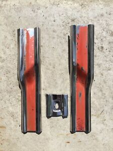 1964 Ford Fairlane 500 Sports Coupe Behind Back Of Door Cross Pices Stainless