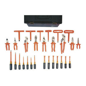 Oberon Company Toolkit deluxe Electrical Insulated Tool Kit 30 Piece