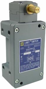 Square D 9007cr65b2 Heavy Duty Limit Switch 600 V 10 A 2nc 1no Snap Action