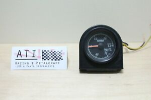 Rare Vintage Blitz Turbo Boost Vacuum Gauge Black 52mm Jdm Blitz Japan