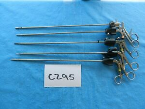 Applied Medical V Mueller Surgical 5mm Lap Laparoscopic Instruments Lot Of 5