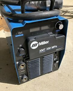 2013 Used Miller Xmt 350 Mpa Welder Multi process Welder