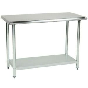 Commercial Stainless Steel Work Table 30 X 24 Heavy Duty L j