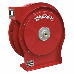 Reelcraft 5600 Olp Air water Hose Reel 3 8 Hose Dia 35 Ft Length 500 Psi