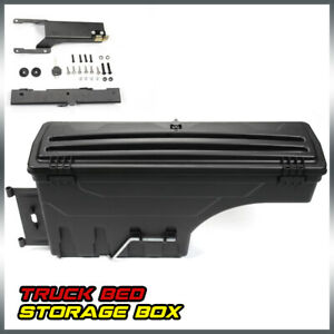 1x Lockable Storage Box Truck Bed Tool Box Rear Right For Ford F 150 2015 2019